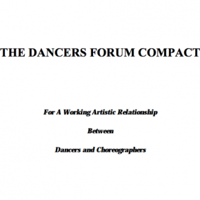 Re-Post: A Working Artistic Relationship Between Dancers and Choreographers
