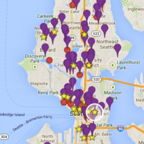The Seattle Dance Map